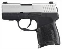 "SIG P290RS .9MM 2.9"" NIGHT SIGHT 8-SH TWO-TONE POLYMER"