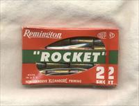 "Remington ""Rocket"" .22 Short Cartridge Sealed Packet"