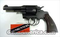 "Colt Commando 4"" WWII w/ flaming bomb .38 Spl"