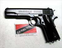Colt 1911 .45 ACP, 1914 production, refinished by Turnbull