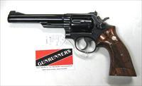 "Smith & Wesson Model 19-3  6""  .357 magnum"