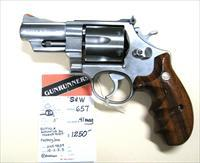 "S&W 657 .41 Mag  3"" barrel, Magnaported"