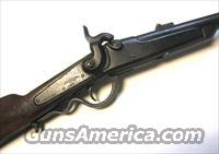 Gallager Cavalry Carbine w/ ring, Breechloading single shot, for Rimfire cartridges
