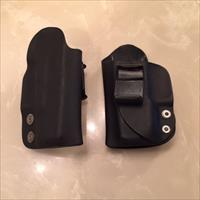 Glock 26 kydex IWB holsters Left hand draw