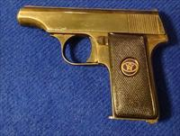 WALTHER MODEL 8 - 25 CAL. WITH ENGRAVED SLIDES - MADE IN GERMANY