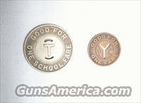 NYC AND TRENTON TRANSIT COINS - FREE SHIPPING