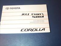 TOYOTA COROLLA 2007 OWNERS MANUAL - FREE SHIPPING!!