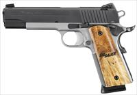 "SIG 1911 45ACP 5"" 8RD TWO-TON ANS WD"
