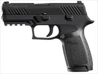 SIG 320CA40BSS   320 40S CARRY 14R BLK