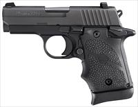 "SIG P938 9MM 6RD 3"" BLK FNS RBR"