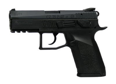 The CZ P-07 Duty in .40 S&W is at least a 9.5 on the coolness scale, and the features that make it so good looking are as much as you can expect from a gun you intend to vest your life in