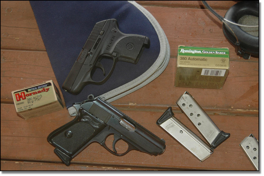 Concealed Carry - The Ruger LCP vs  The Walther PPK