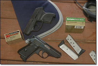 The PPK and LCP are great examples of .380 ACP pistols made for the civilian concealed market.