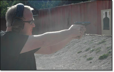 Shooting the PPK. Wh