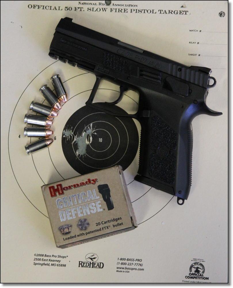 The P-07 Duty  40 S&W from CZ-USA - GunsAmerica Digest