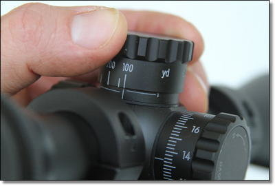 I found the quality of the Nikon turrets to be as good as a scope twice the price. They snap up, snap down, and the idea to match the distances to a specific factory ammo was genius. I would buy this scope in a heartbeat