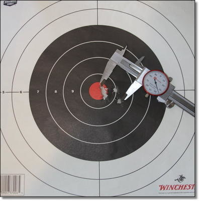100 Yard groups came in under 1.5 inches consistently with Hornady Superformance in the 165grain GMX bullet. This one is 1.33 inches.