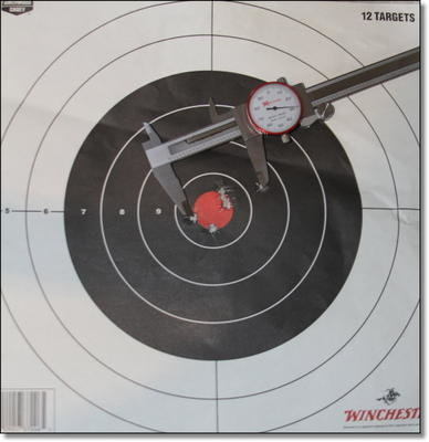 This 2.03 inch group at 300 yards was surprising for the gun and makes you wonder if with a little tuning it could be an under MOA gun for not a ton of money.