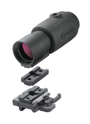 The G23 comes with a 7mm spacer for the up-head models of EOTech sights. It is engineered to work with and without the 7mm spacer to fit all EOTech models
