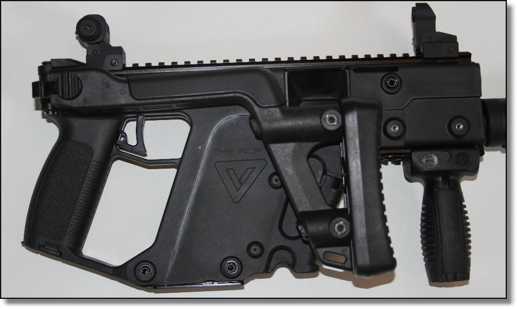 KRISS Vector CRB/SO™ and SBR/SO™  45ACP Carbines
