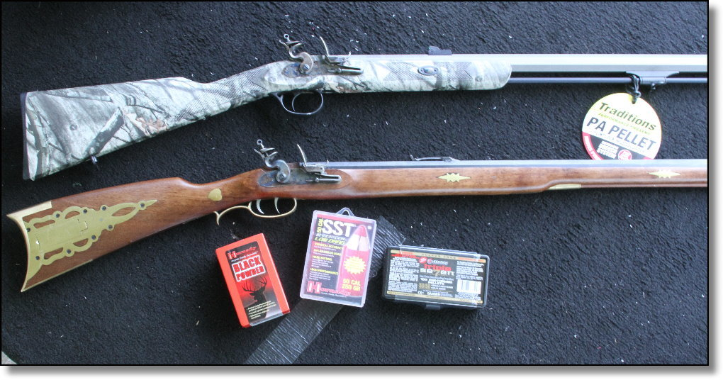 The PA Pellet Flintlock from Traditions Performance Firearms