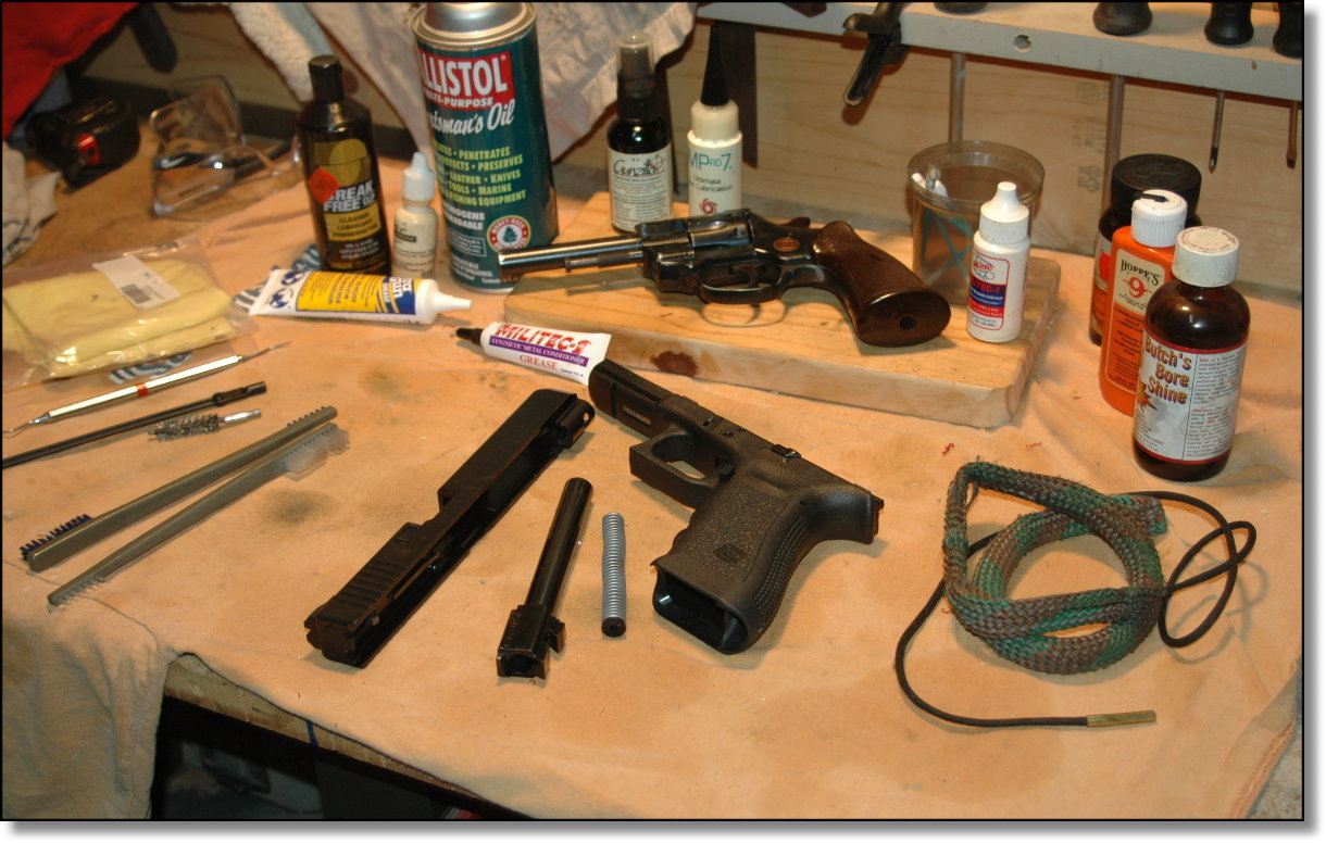 How to Clean a Gun images