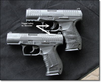 elite striker pistols from walther the ppq and p99 as rh gunsamerica com Walther PK380 Walther P99 Compact