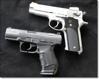 elite striker pistols from walther the ppq and p99 as