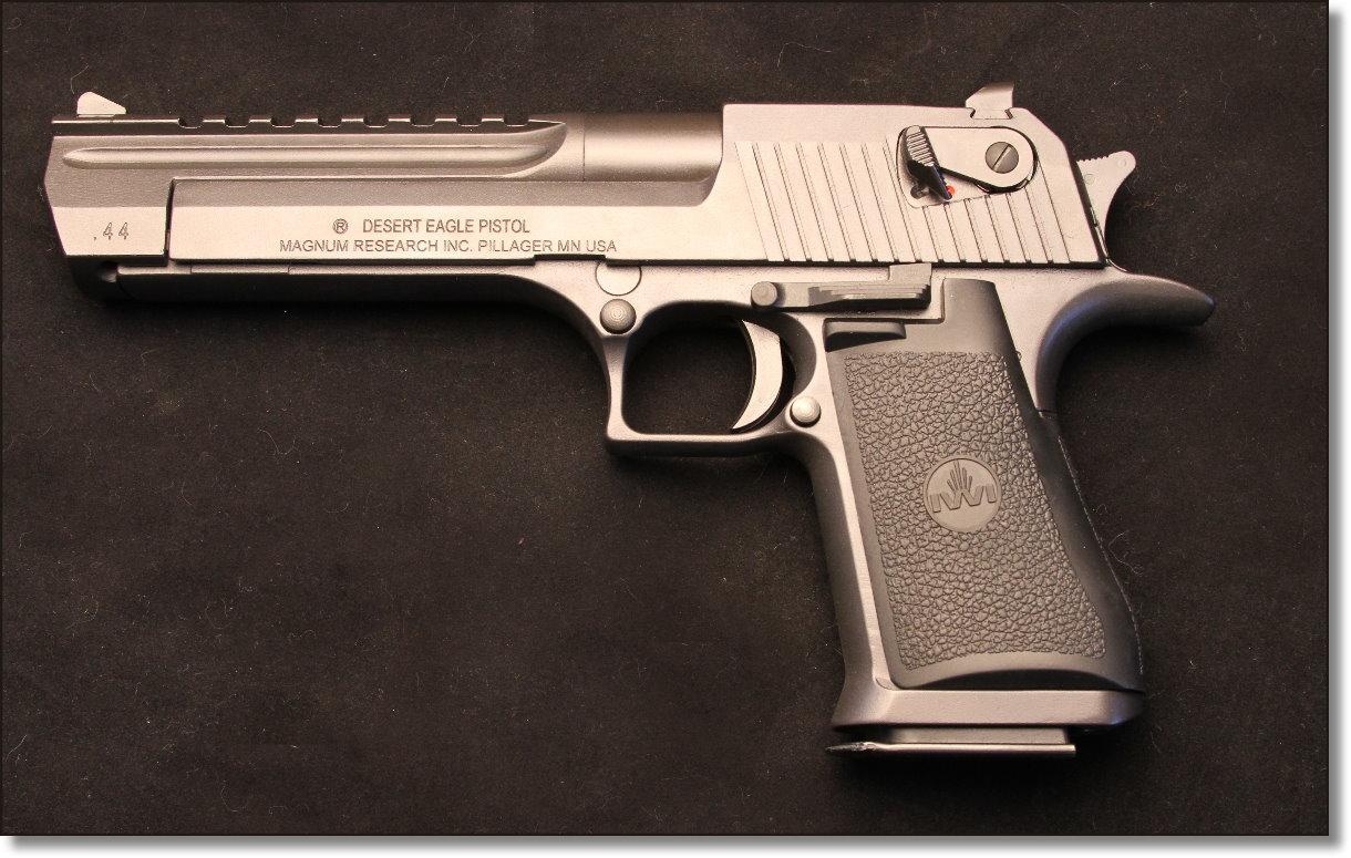 Shooting the Desert Eagle  44 Magnum - GunsAmerica Digest