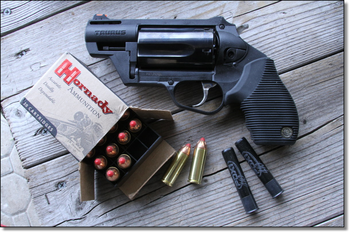 Ballistics of the Taurus Judge 2