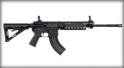 "The SIG516 comes out in a new ""Russian"" version this year in the 7.62x39 caliber of the AK-47 rifle, and it takes AK mags. For fans of the cartridge this is a duty-quality rifle and a significant development."