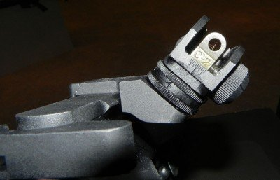 To keep the 3G in the Tactical Optic Division, Stag equipped it with iron sights set at a 45 degree angle you can use instead of a secondary, close-range optic that would put it in the open class.