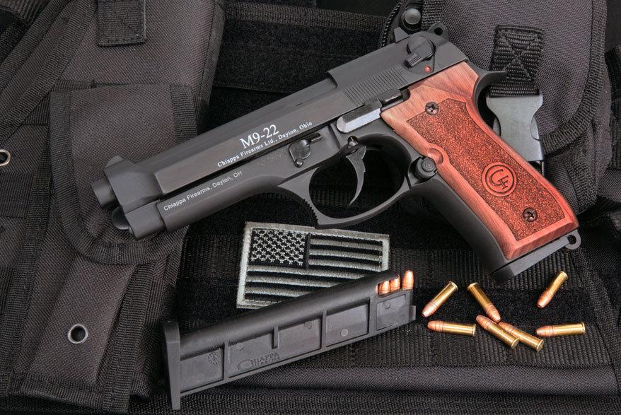Chiappa's Beretta 92/M9 .22 Replica