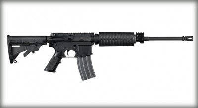 The M400 is a Mil-Spec AR-15 rifle from Sig. A lot of police armorers and Sig enthusiasts who rely already on Sig products have been asking for a standard AR from Sig, and now they have it in the M400.