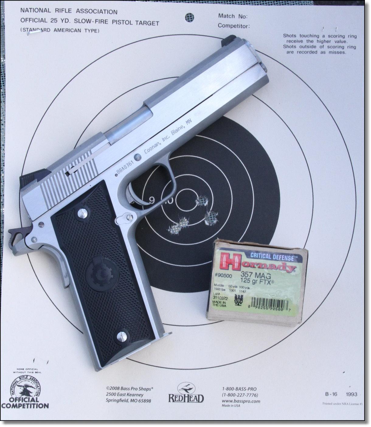 Coonan Arms Classic .357 Magnum 1911 Pistol - GunsAmerica Digest