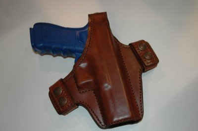 The Classified holster (model 130) with thumb snap.