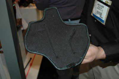 The unique idea of the Suppression is the foam/mesh backing with antimicrobial properties.