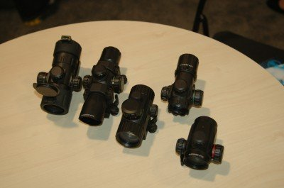 Leapers UTG new line of re-dot scopes cover a wide range of shapes and sizes.