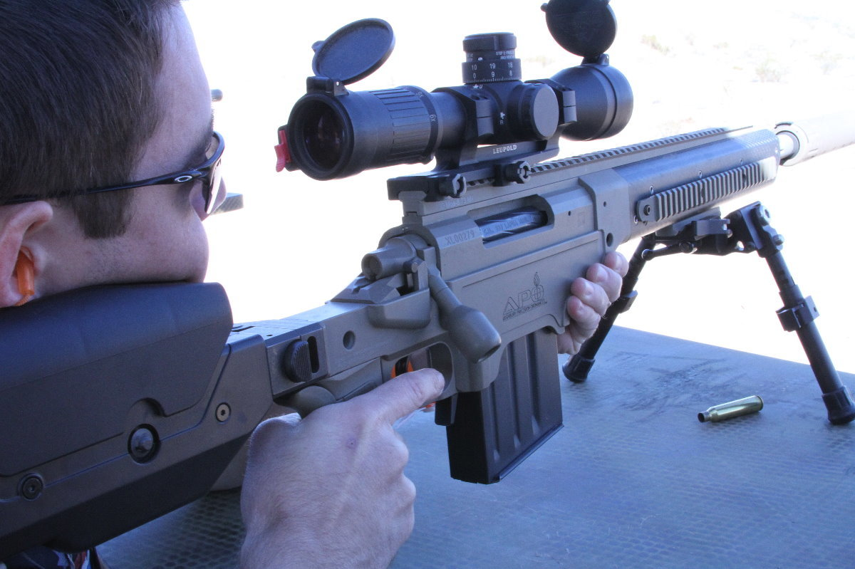 APO Saber Modular Rifle Chassis System - GunsAmerica Digest