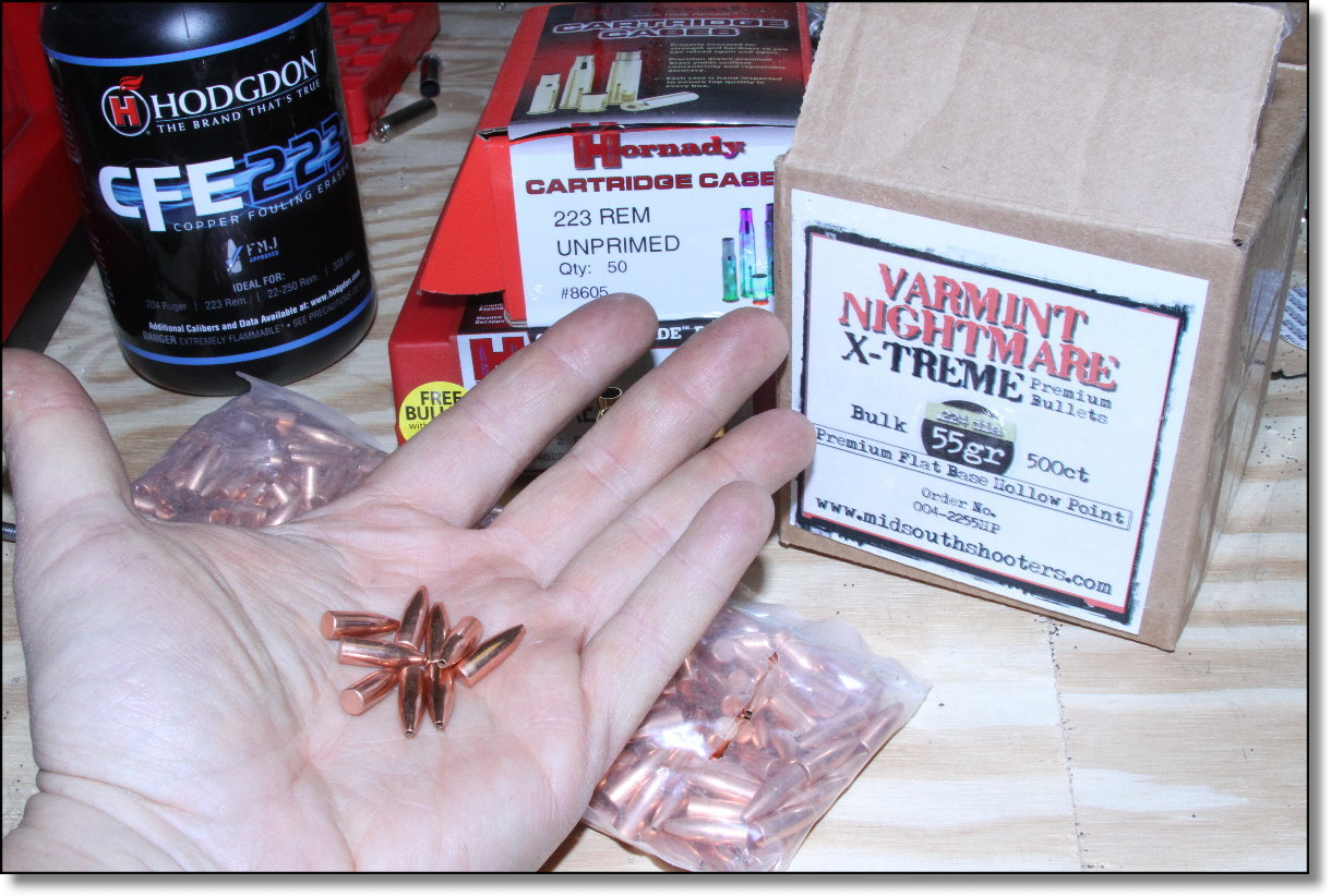 Half Price Varmint Nightmare AR-15 Bullets from Midsouth