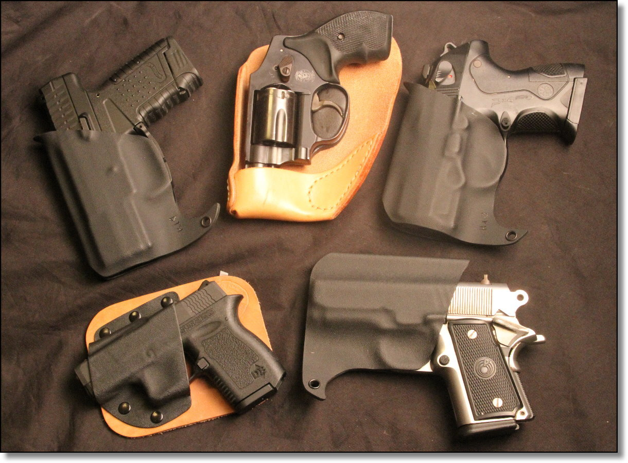 NextGen Pocket Holsters from Double Tap, Crossbreed, Recluse