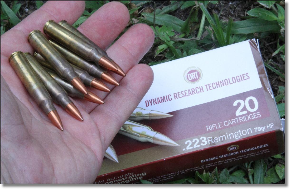 DRT Frangible .223 Ammo vs. Charging
