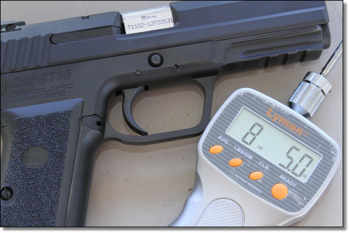 Sarsilmaz Arms SAR ST10 from EAA - New Gun Review