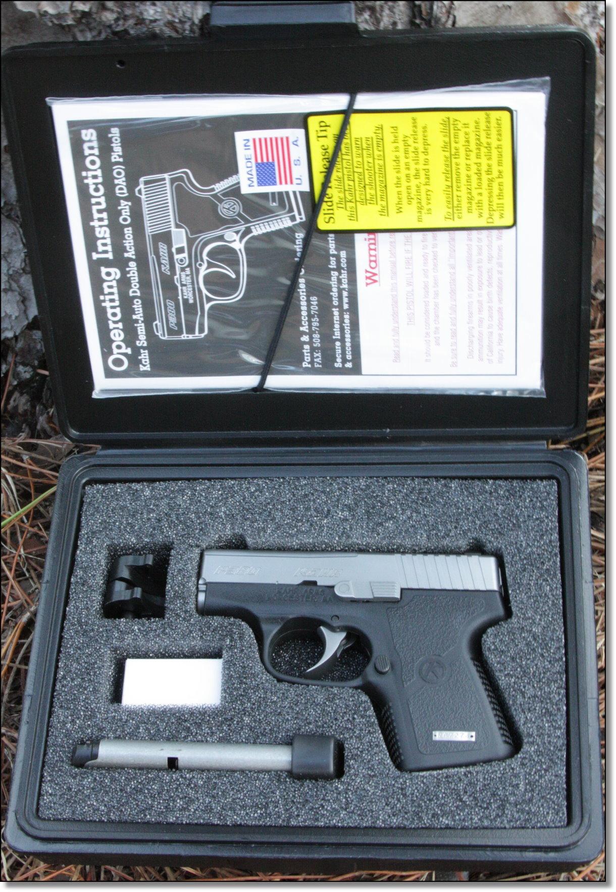 Kahr P380 - The Best Tiny Pocket 380 - GunsAmerica Digest