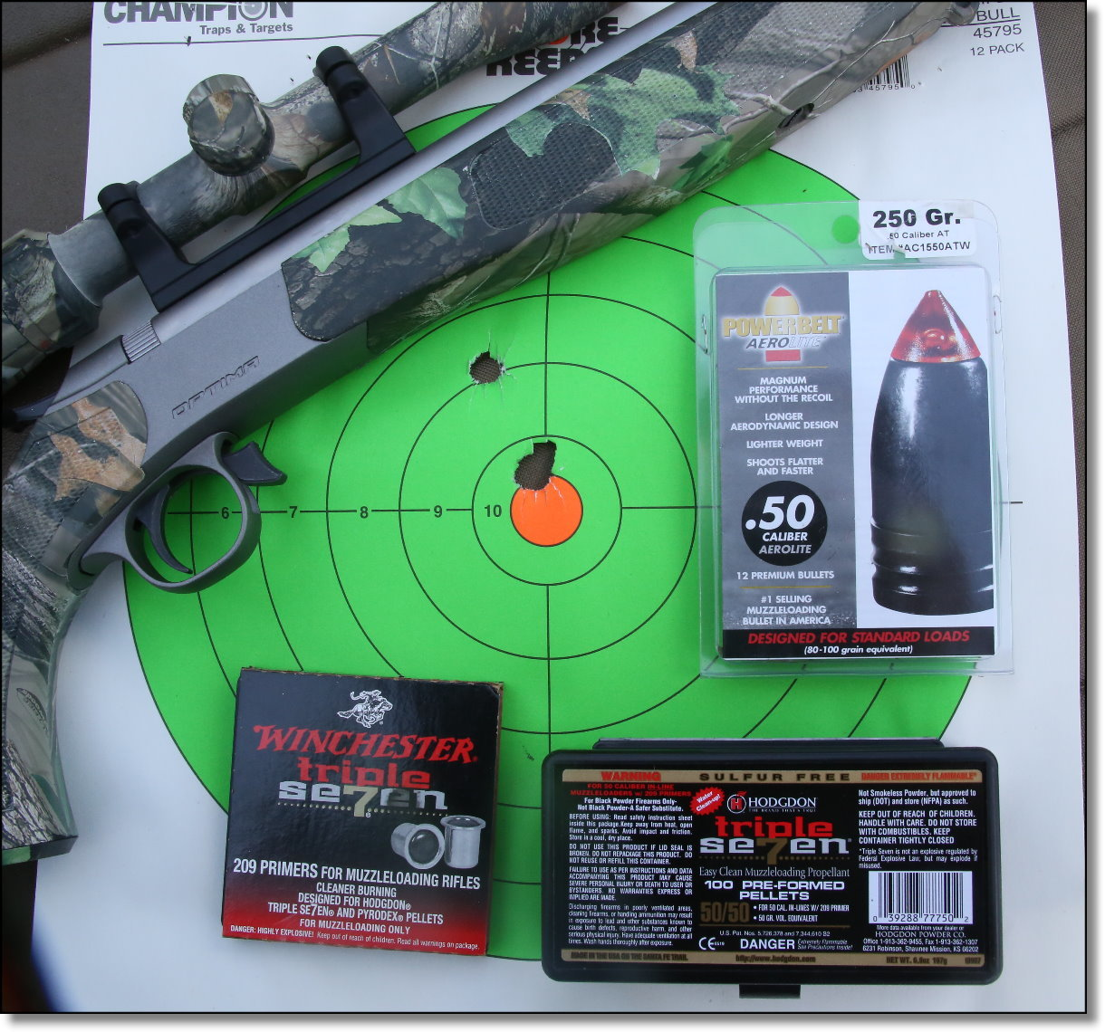 Walmart Muzzleloaders Rock! - The TC Omega and CVA Optima