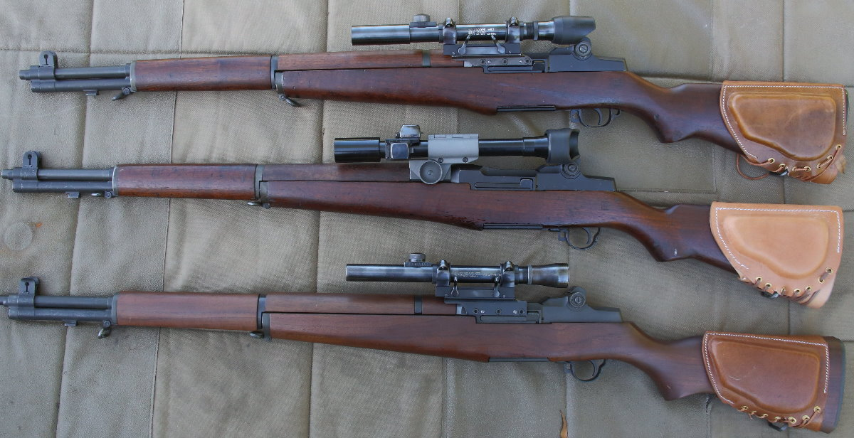 M1 Garand Sniper Variants M1C & M1D – Part 4 Garands from the Government
