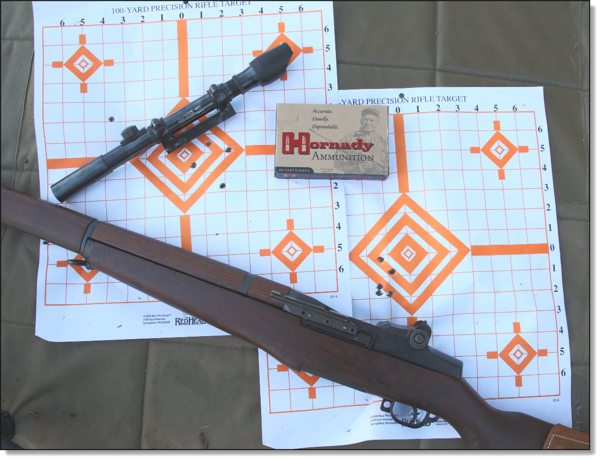 M1 Garand Sniper Variants M1c M1d Part 4 Garands From The Each Of 60 Parts Az With Images Diagrams And We Tried To Remove Mount See If It Returned Same Point Impact But Didnt Got This Wierd Flyer Is Still All Within