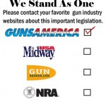 We Stand As One!  Contact Congress on Guns – Email Your Contacts!