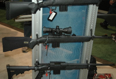 Mossberg Flex MVP Patrol Rifle Takes AR-15 Mags – SHOT Show 2013
