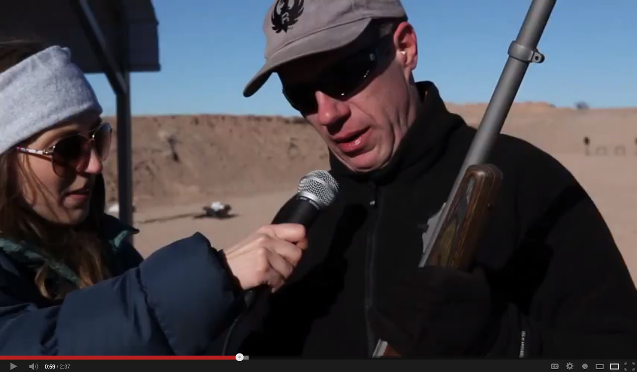 Ruger Hunting Rifles – Media Day at the Range SHOT 2013